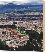 Cuenca And Turi Panorama Wood Print