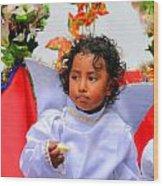 Cuenca Kids 215 Wood Print