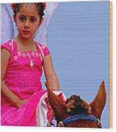 Cuenca Kids 238 Wood Print