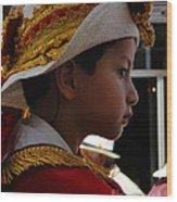 Cuenca Kids 249 Wood Print