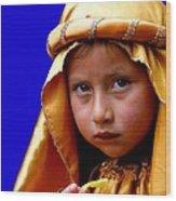 Cuenca Kids 315 Wood Print