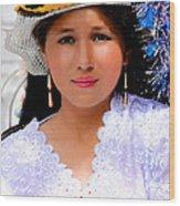 Cuenca Kids 491 Wood Print