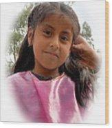 Cuenca Kids 528 Wood Print