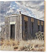 Cuervo New Mexico  Wood Print