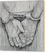 Cuffs Wood Print