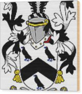 Cullen Coat Of Arms Irish Wood Print