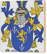 Culligan Coat Of Arms Irish Wood Print