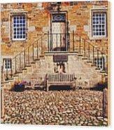 Culross Sketches 1  Scotland Wood Print