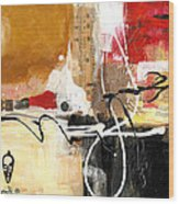 Cultural Abstractions - Hattie McDaniels Wood Print