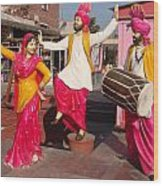 Culture Of Punjab Wood Print