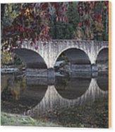 Cumberland Falls Bridge Wood Print