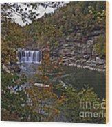 Cumberland Falls E Wood Print