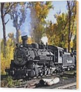 Cumbres And Toltec Railroad Wood Print