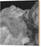 Cumulus Congestus Wood Print