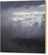 Cumulus On The Blue Ridge Parkway Wood Print