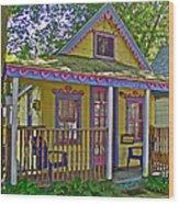 Cup Cake In Asbury Grove In South Hamilton-massachusetts  Wood Print