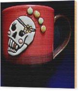 Cup In Bowl Wood Print