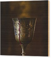 Cup Runneth Over Wood Print