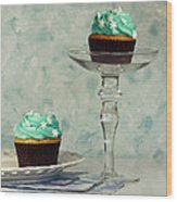 Cupcake Frenzy Wood Print by Inspired Nature Photography Fine Art Photography