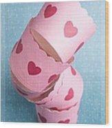Cupcake Love Wood Print