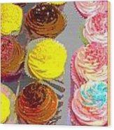 Cupcake Suite Wood Print