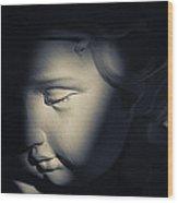 Cupid In Sunlight Wood Print