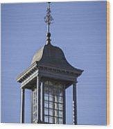Cupola And Weather Vane Wood Print