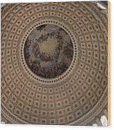 Cupola Capitol Washington Dc Wood Print