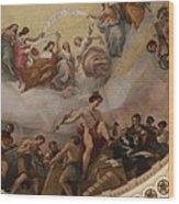Cupola Painting - Washington Dc Wood Print