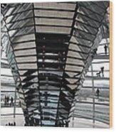 Cupola Reichstag Building II Wood Print