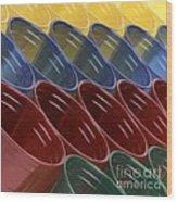 Cups7 Wood Print