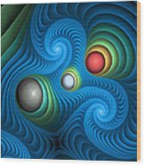 Curbisme-106 Wood Print
