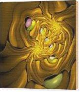 Curbisme-96 Wood Print