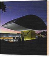 Curitiba - Museu Oscar Niemeyer Wood Print