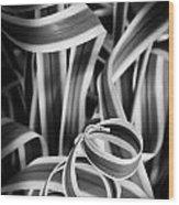 Curley Q Wood Print