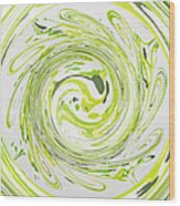 Curly Greens II Wood Print