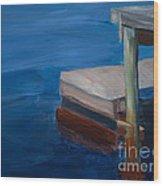 Currituck Dock Wood Print