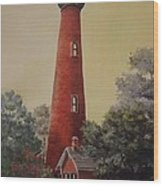 Currituck Lighthouse Wood Print