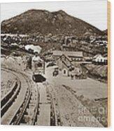 Curry Mine.virginia City Nevada.1865 Wood Print