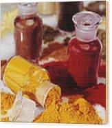Curry Powder Wood Print