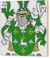 Curtin Coat Of Arms Irish Wood Print