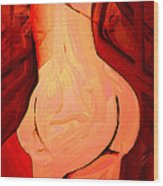 Curvaceous Wood Print