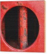 Curvature Wood Print