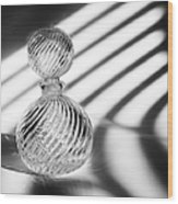 Curvatures Wood Print