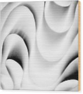 Curvy .. Wood Print