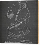 Cushion Insole For Shoes Patent Drawing From 1905 Wood Print