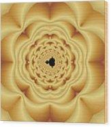 Cushioned Mandelbrot No. 1 Wood Print
