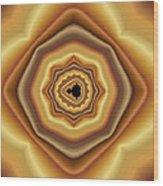 Cushioned Mandelbrot No. 2 Wood Print