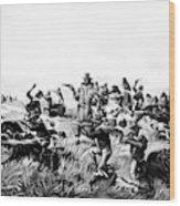 Custer's Last Fight, 1876 Wood Print