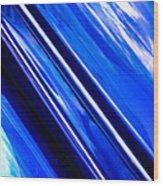 Custom Blue Paint Wood Print by Phil 'motography' Clark